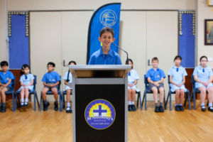St Anthony's Catholic Primary School Marsfield Co-curricular Public Speaking